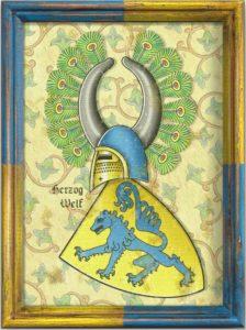 Welfen Wikinger Wappen Gothia Goten